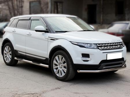 Range Rover Evoque (evolution) 2011-наст.вр.-Пороги степ d-76